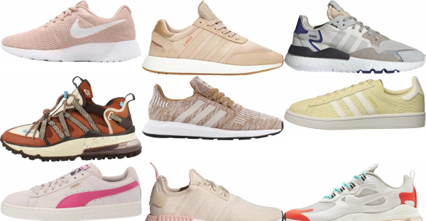 buy beige sneakers for men and women