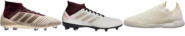 buy beige soccer cleats for men and women
