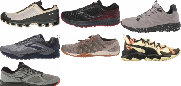 buy beige trail running shoes for men and women