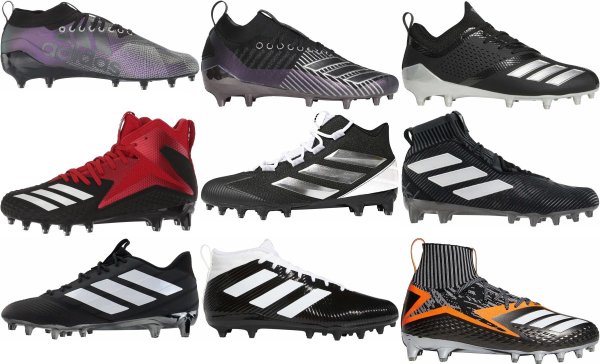 buy black adidas football cleats for men and women