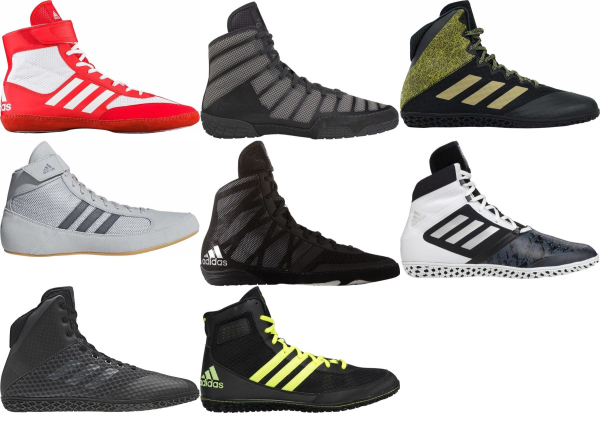 buy black adidas wrestling shoes for men and women