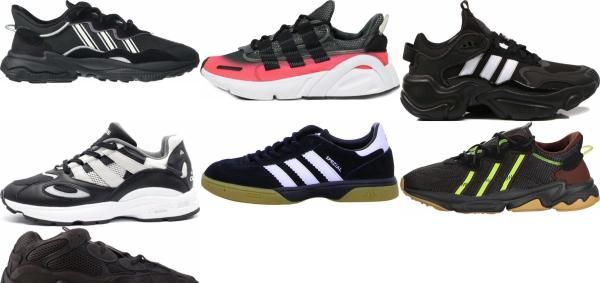 buy black adiprene sneakers for men and women