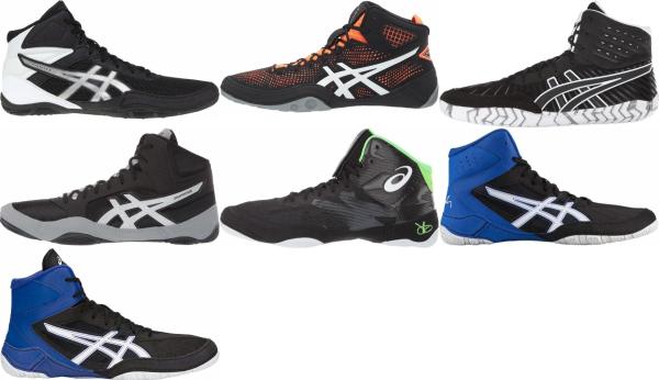 buy black asics wrestling shoes for men and women