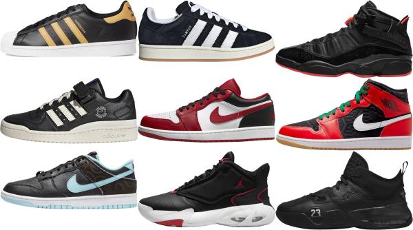 buy black basketball sneakers for men and women