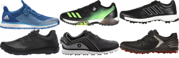 buy black boa golf shoes for men and women