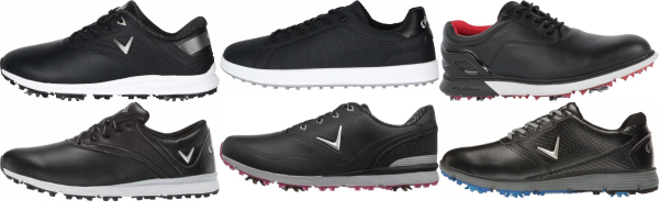 buy black callaway golf shoes for men and women