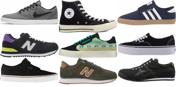 buy black canvas sneakers for men and women