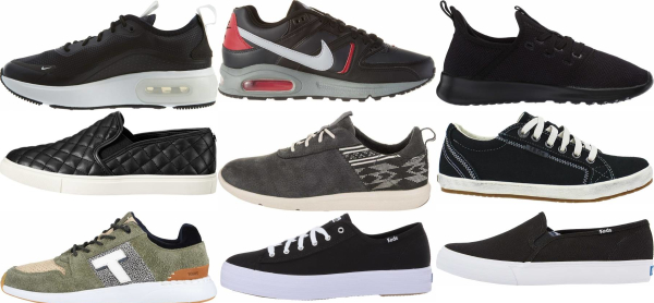 buy black casual sneakers for men and women