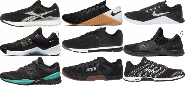 buy black crossfit shoes for men and women