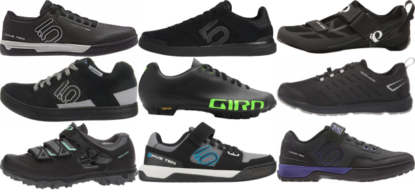 buy black cycling shoes for men and women