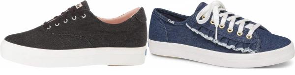 buy black denim sneakers for men and women