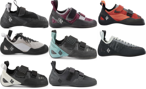 buy black diamond climbing shoes for men and women