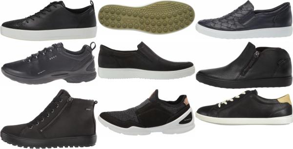 buy black ecco sneakers for men and women