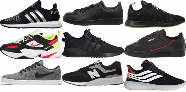 buy black eva sneakers for men and women