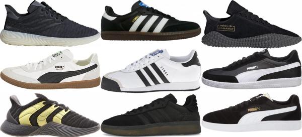 buy black football sneakers for men and women
