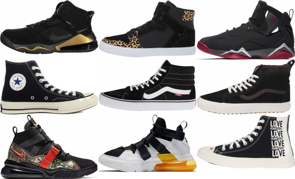Save 37% on Black High Top Sneakers (99
