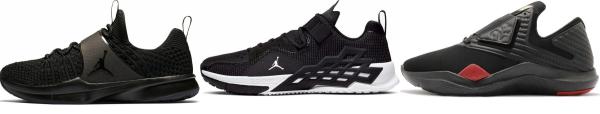 buy black jordan training shoes for men and women
