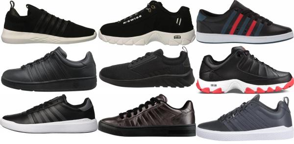 buy black k-swiss sneakers for men and women