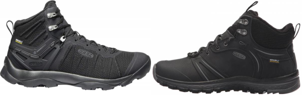 buy black keen hiking boots for men and women