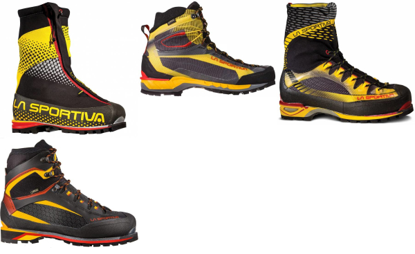 buy black la sportiva mountaineering boots for men and women