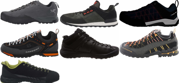 buy black leather approach shoes for men and women