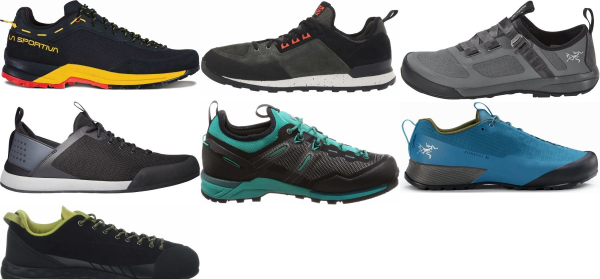 buy black lightweight approach shoes for men and women