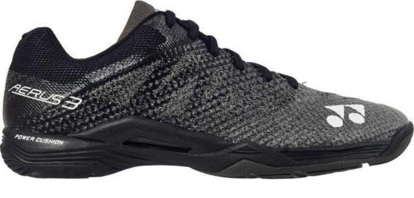 buy black lightweight badminton shoes for men and women