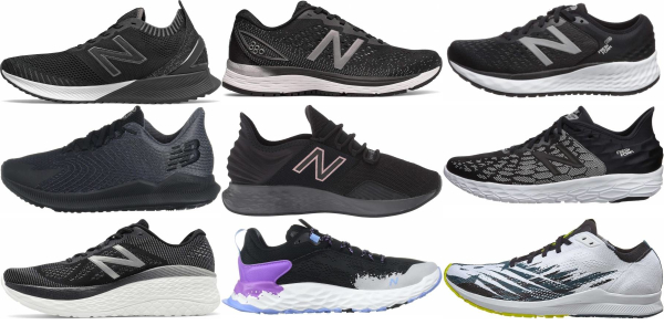 buy black new balance running shoes for men and women