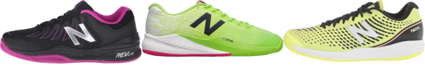 buy black new balance tennis shoes for men and women