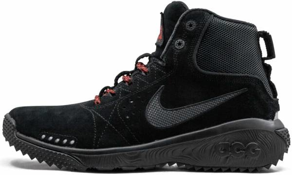 buy black nike hiking boots for men and women