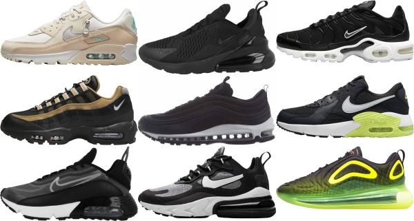 buy black nike sneakers for men and women