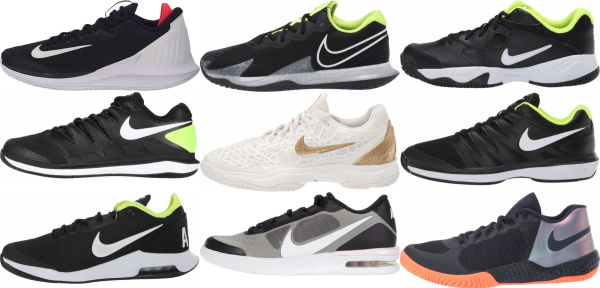 buy black nike tennis shoes for men and women