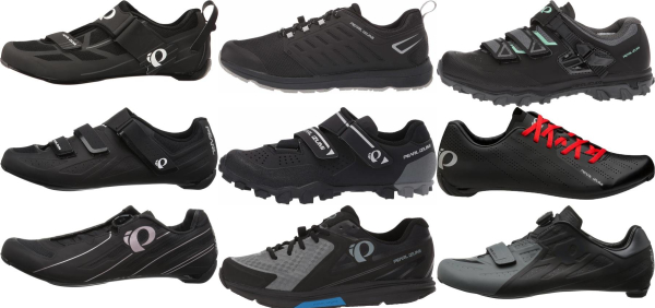 buy black pearl izumi cycling shoes for men and women