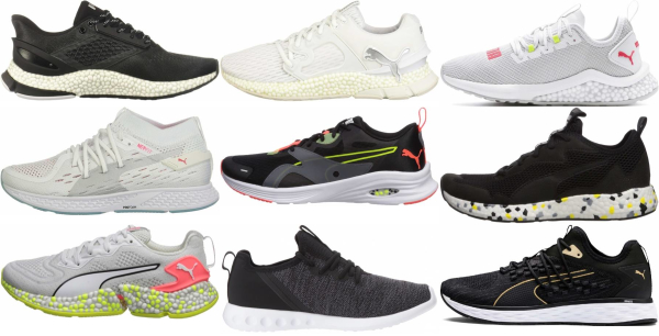 buy black puma running shoes for men and women