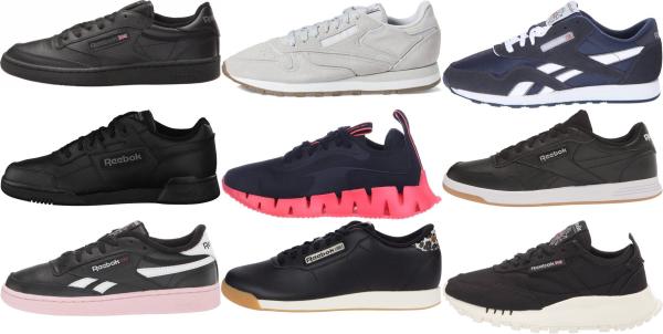 buy black reebok sneakers for men and women