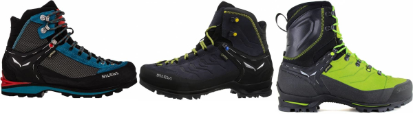 buy black salewa mountaineering boots for men and women