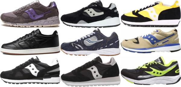 buy black saucony sneakers for men and women
