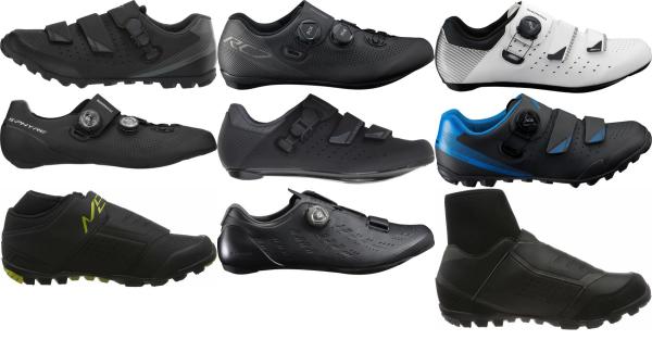 buy black shimano cycling shoes for men and women