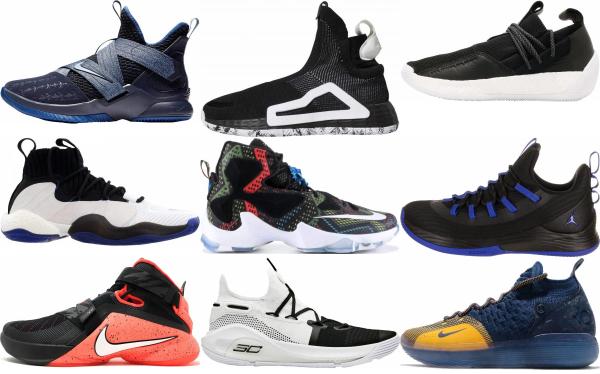 buy black slip-on basketball shoes for men and women