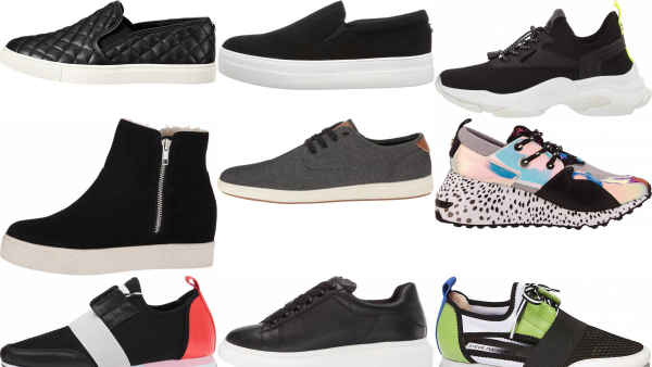 buy black steve madden sneakers for men and women