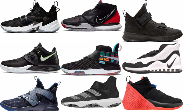 buy black strap basketball shoes for men and women