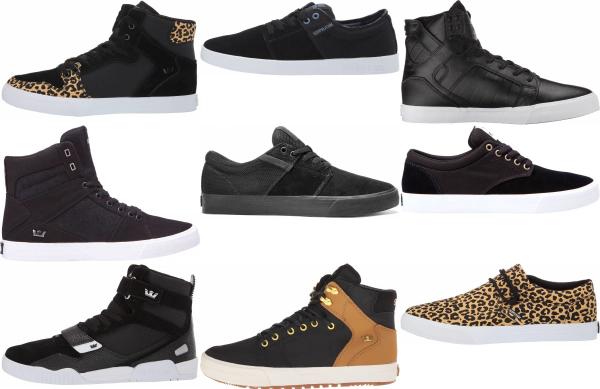 buy black supra sneakers for men and women