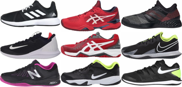 buy black tennis shoes for men and women