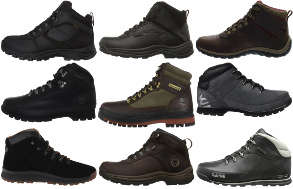 buy black timberland hiking boots for men and women