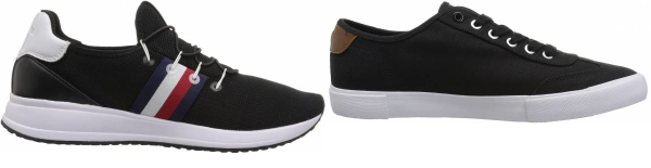 buy black tommy hilfiger sneakers for men and women