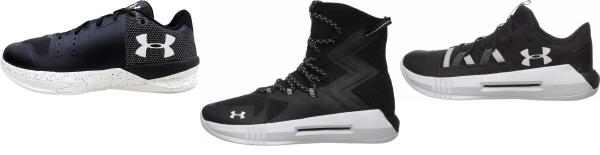 buy black under armour volleyball shoes for men and women