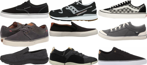 buy black vegan sneakers for men and women