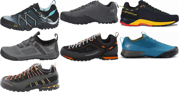 buy black vibram sole approach shoes for men and women