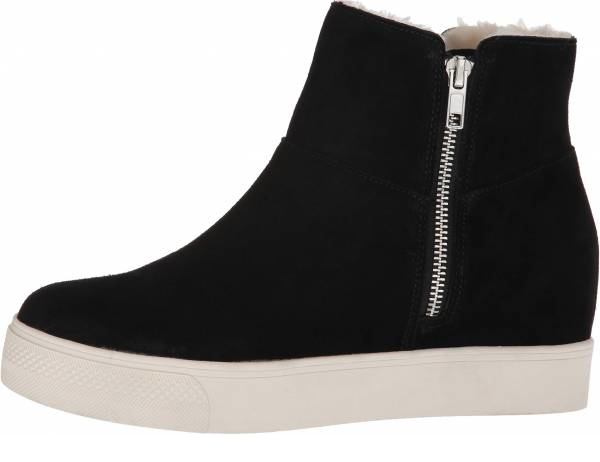 buy black wedge sneakers for men and women