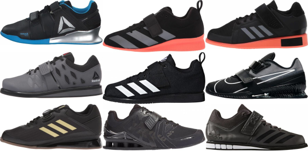 buy black weightlifting shoes for men and women